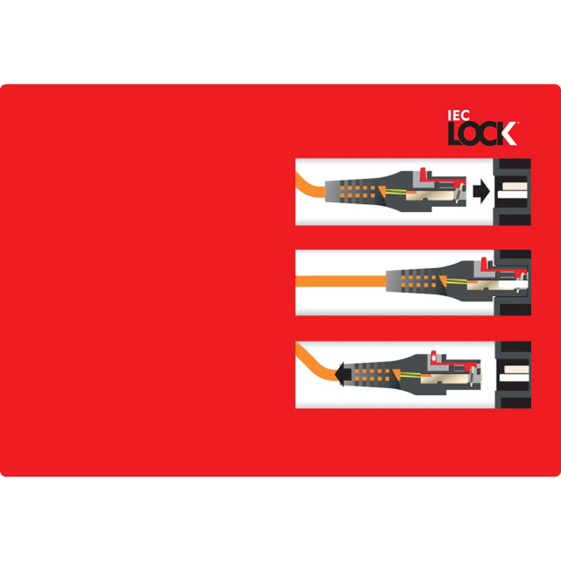 IEC-LOCK C13-C14 | Kaltgerätestecker